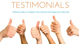 how to create an MLM testimonial