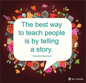 telling a story in business