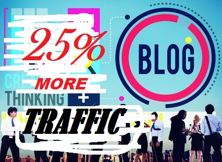 How to Get 25 Percent More Blog Traffic in a Week