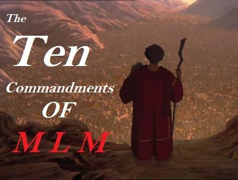The Ten Commandments of MLM