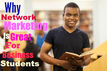 Why Network Marketing is Great for Business Students
