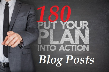 What I Learned from 180 Blog Posts