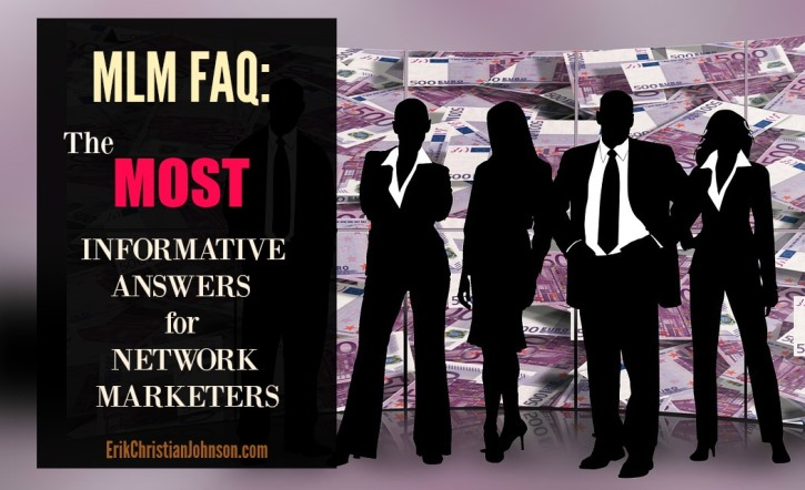 Top 50 Questions and Answers for Network Marketers