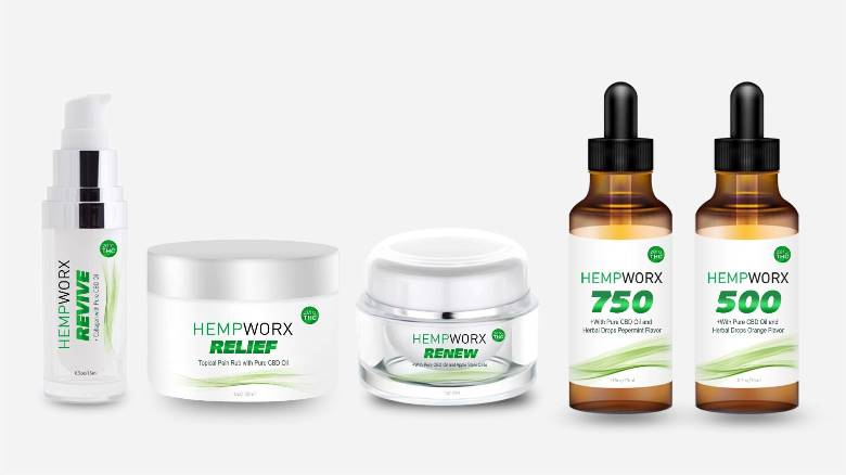 what is Hempworx CBD oil