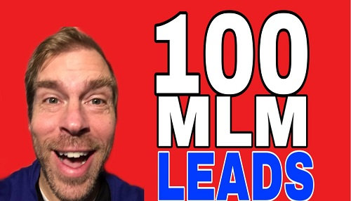 100 mlm leads per day